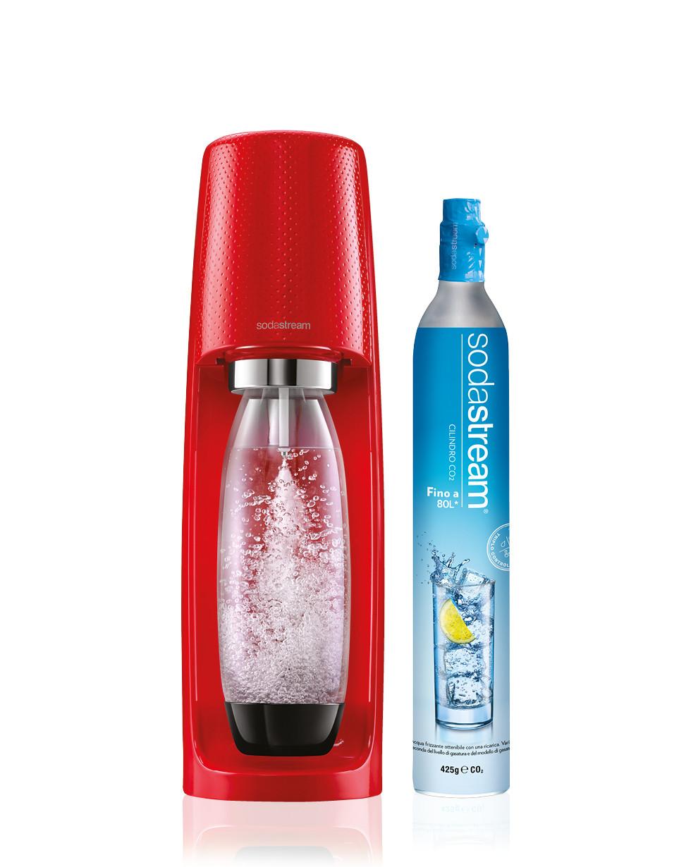 SodaStream Gasatore Spirit Rosso