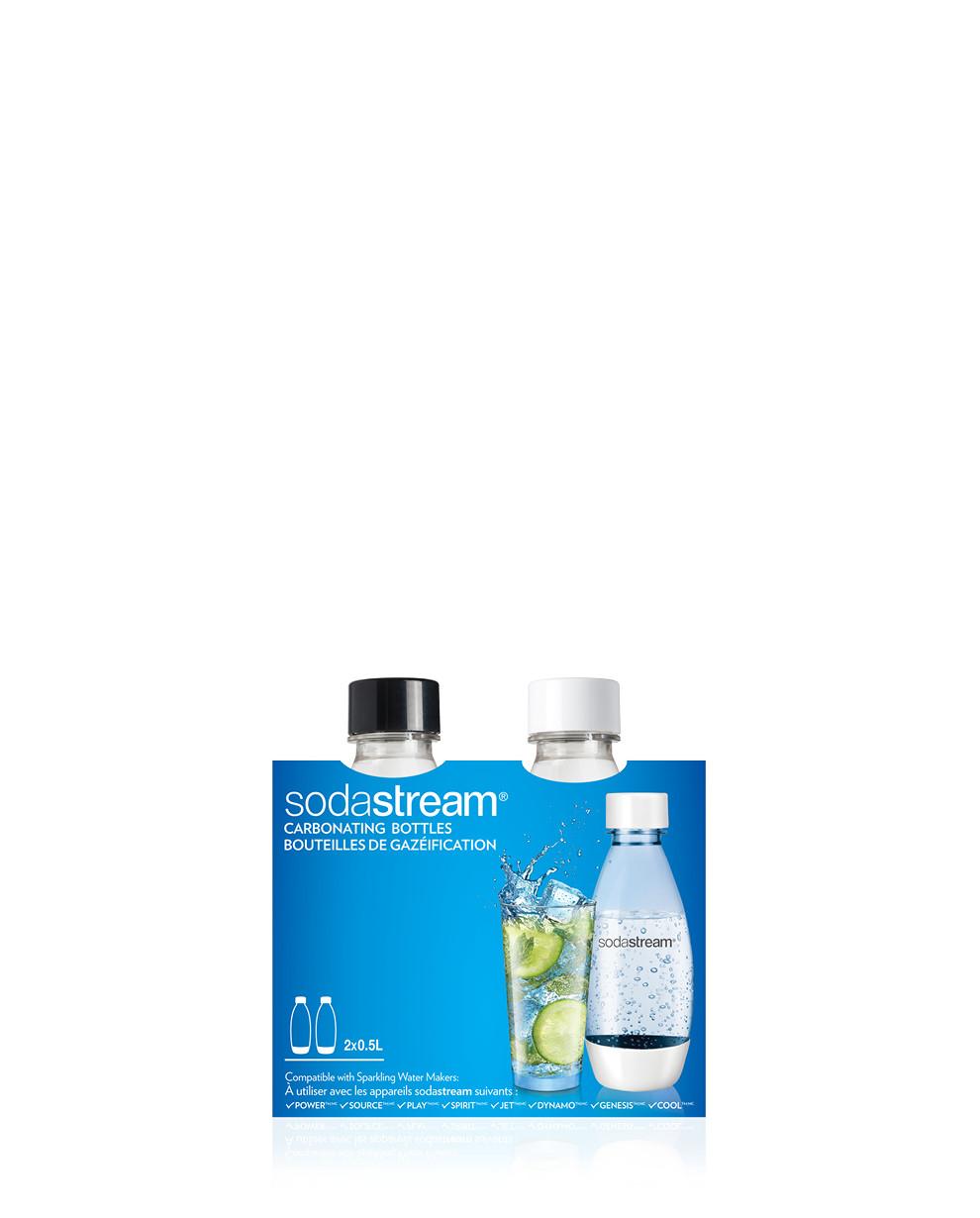 Bottiglie Fuse da 0,5 litri per Gasatore SodaStream