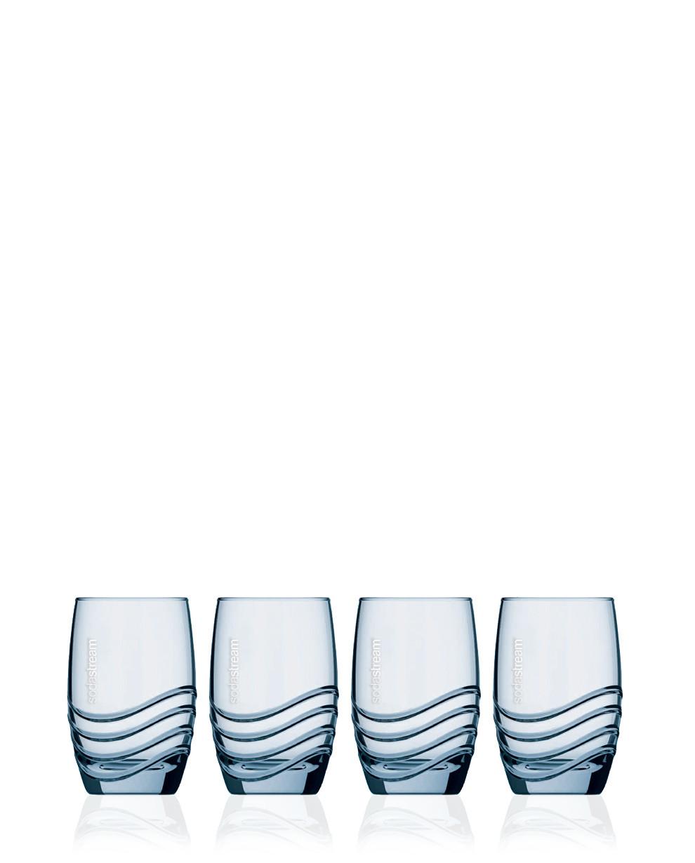 Bicchieri In Vetro per Gasatore Crystal