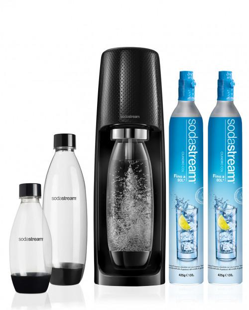 SodaStream Gasatore Spirit Mega Stock Nero