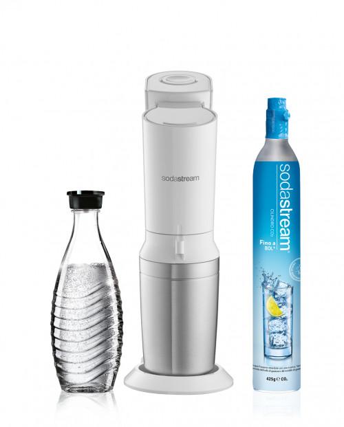 SodaStream Gasatore Crystal Bianco