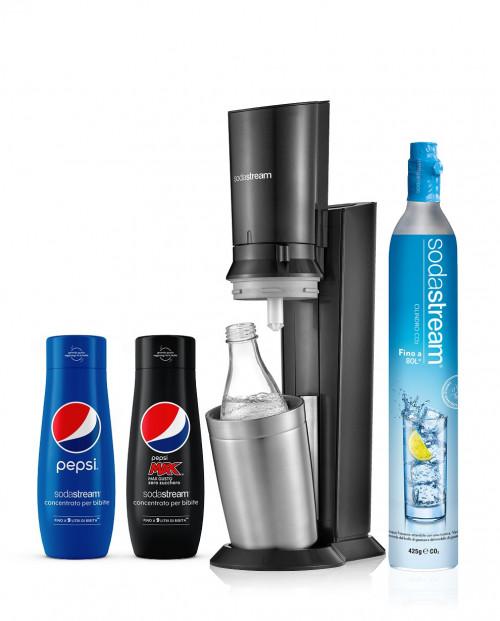 SodaStream Crystal Nero Pepsi
