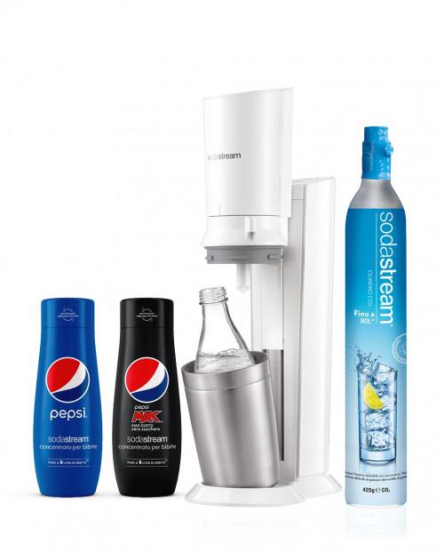 SodaStream Crystal Bianco Pepsi