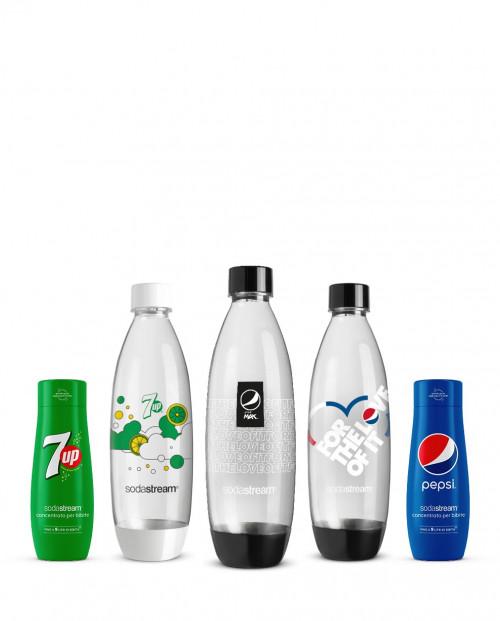 SodaStream Pepsi Bottiglie e concentrati