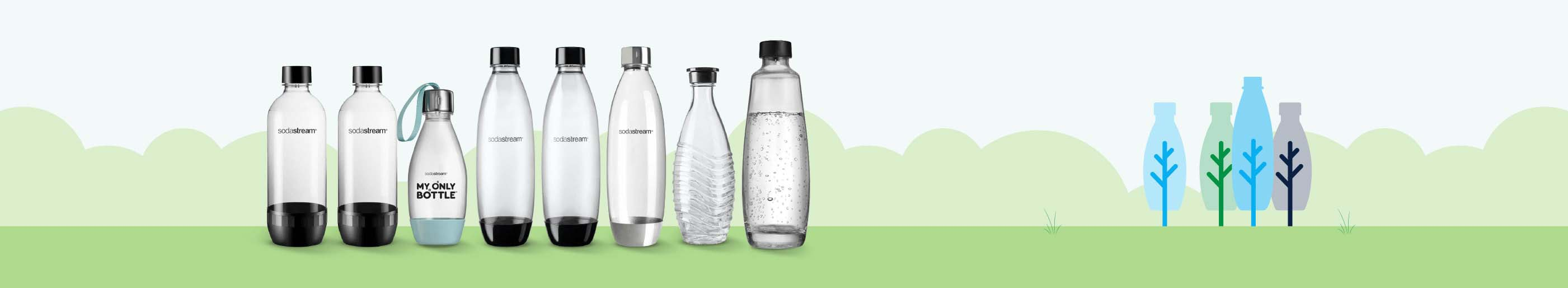 Bottiglie e Accessori SodaStream